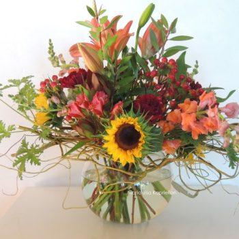 Fresh Flower Arrangement With Proteas
