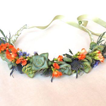 Succulent Crown- Flower Crown