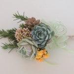 Flower girl-succulent-bouquet