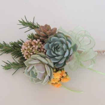 Flower Girl Succulent Bouquet