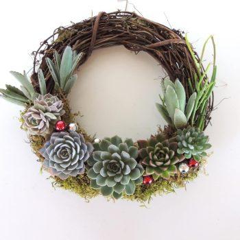 Rachel Succulent Wreath