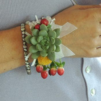 Chrissy's additional pin corsage