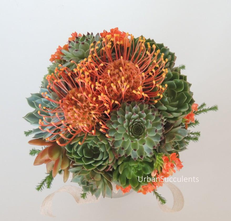 succulent bouquet 004b e1437665289236