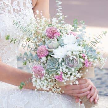 Lola succulent Bouquet-iridiscent