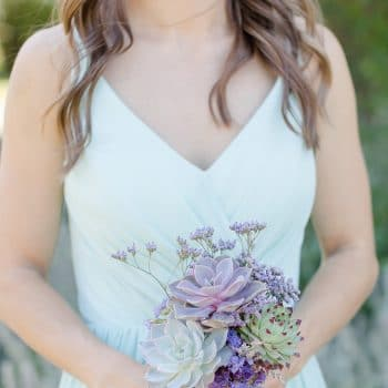 Succulent Bouquet and boutonniere -Kristi 11/21