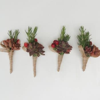 succulent-boutonniere-set-of-4
