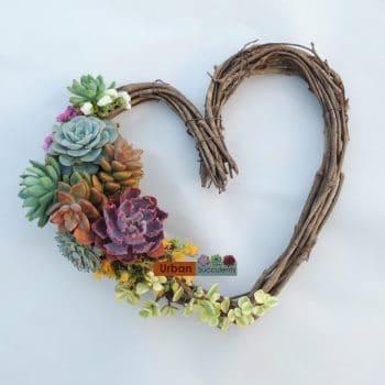 Heart Wreath set of three